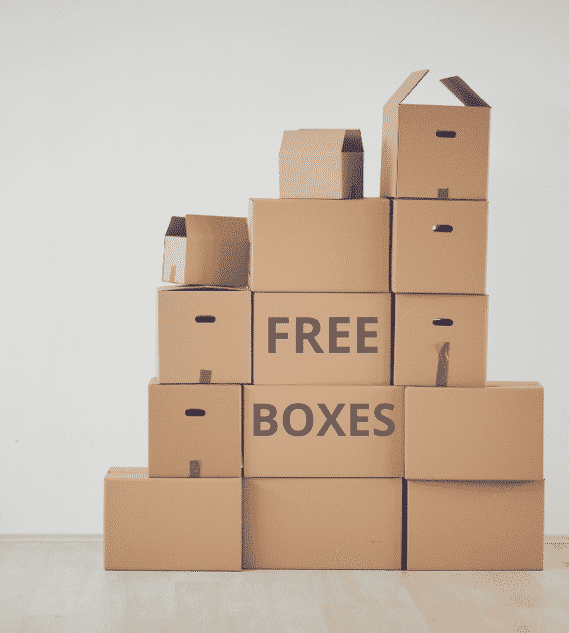 free storage boxes for moving