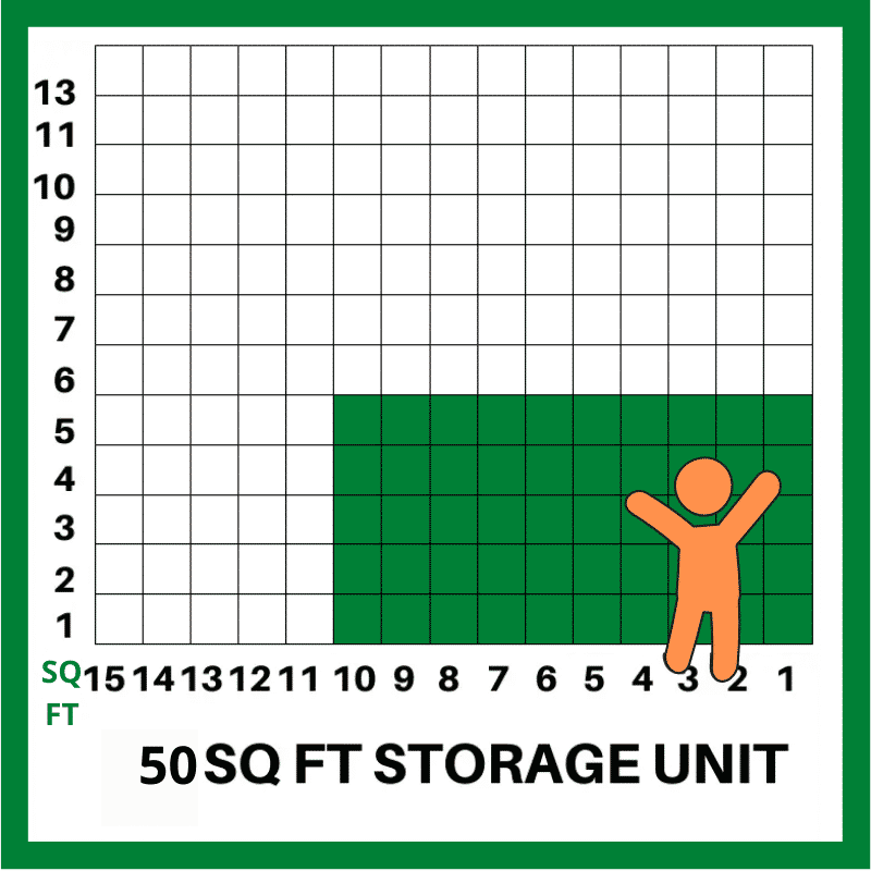 50 SQFT STORAGE UNIT