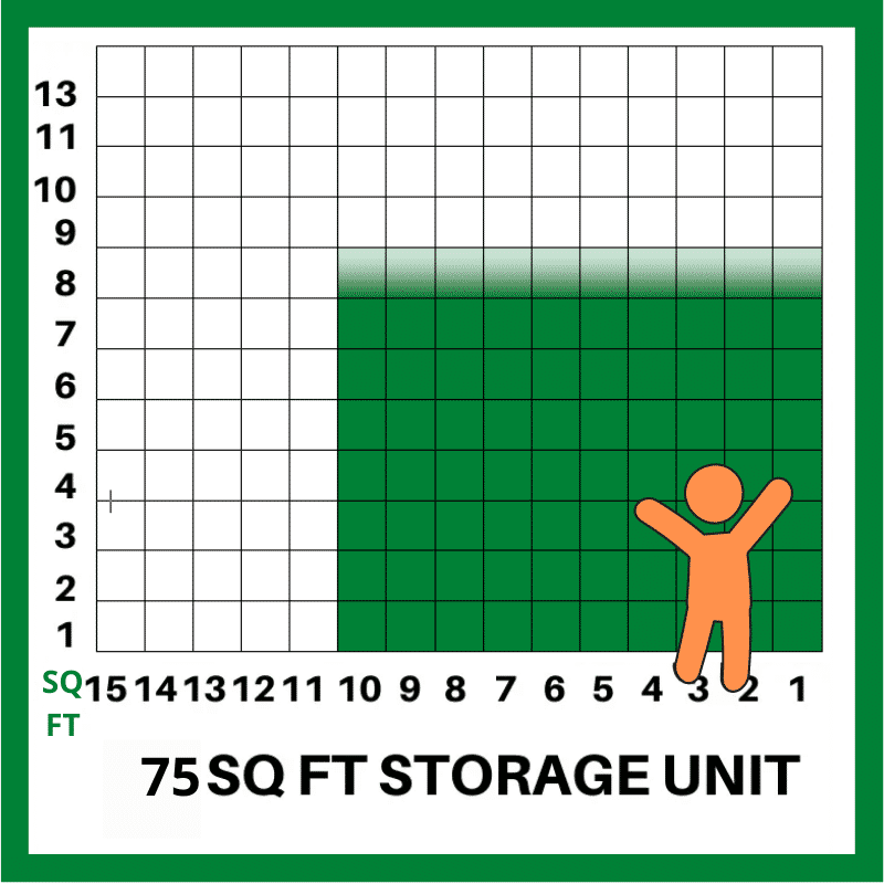 75 SQFT STORAGE UNIT