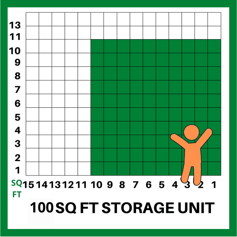 100 SQFT STORAGE UNIT