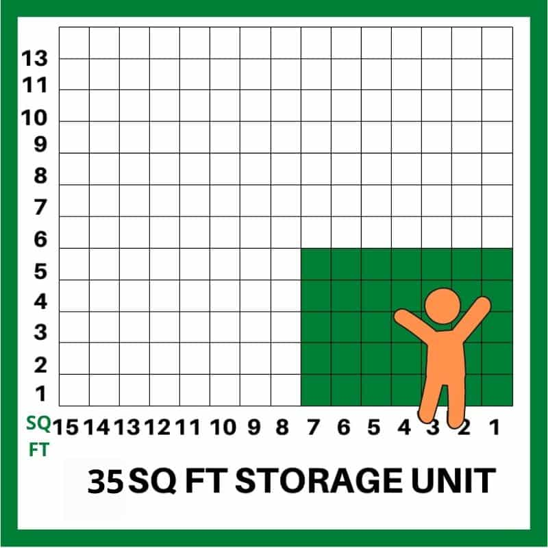 35 SQFT STORAGE UNIT